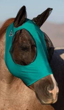 Teal Pony Comfort Fly Mask