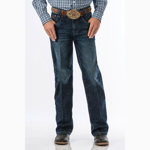 Cinch Boy's Dark Stone Regular Fit Carter Jeans