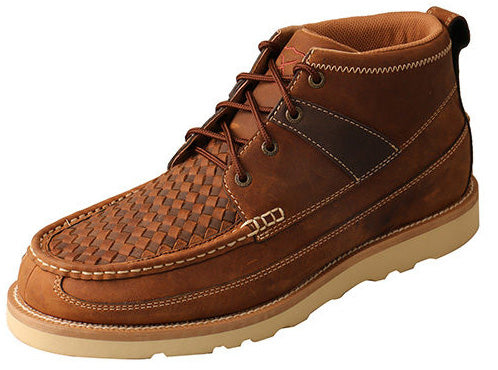 Twisted X Men's Oil Brown Weave Casual