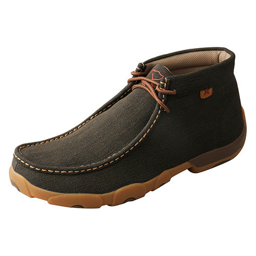 Twisted X Men's Brown Rubber Driving Moc