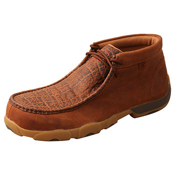 Twisted X Tan and Bull Nano Safety Toe Moccasin