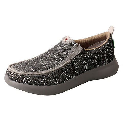 Twisted X Black and White Slip On Shoe