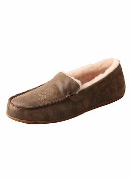 Twisted X Men's Bomber Shearling Slipper