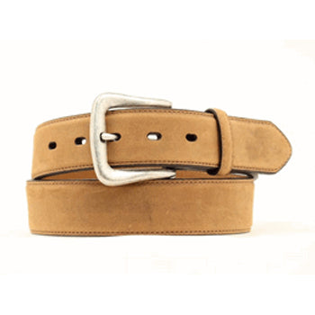 Nocona Men's Plain Tan Dress Belt