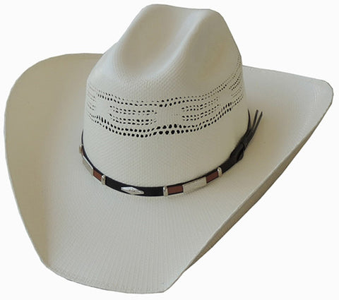 Dallas Hats Bangora - Black/Brown Hatband