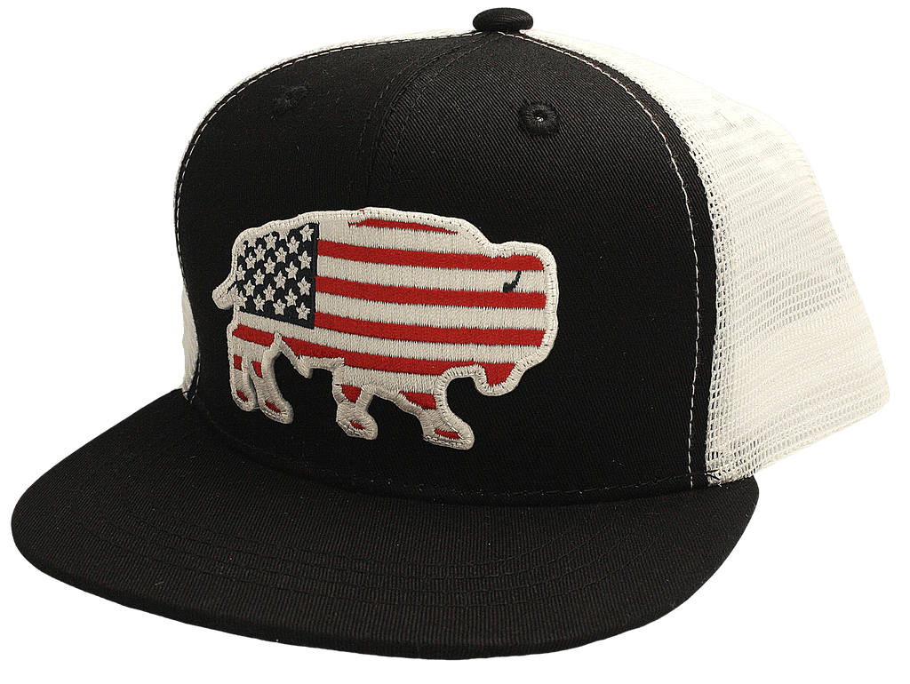 Red Dirt Youth USA Buffalo Patch Cap