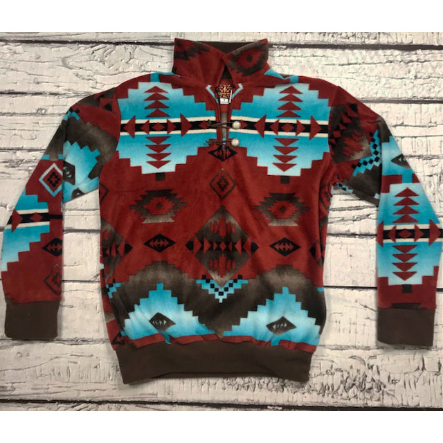 Men's Red Canyon Pullover