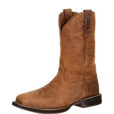Rocky Brown Waterproof Steel and Square Toe Boot