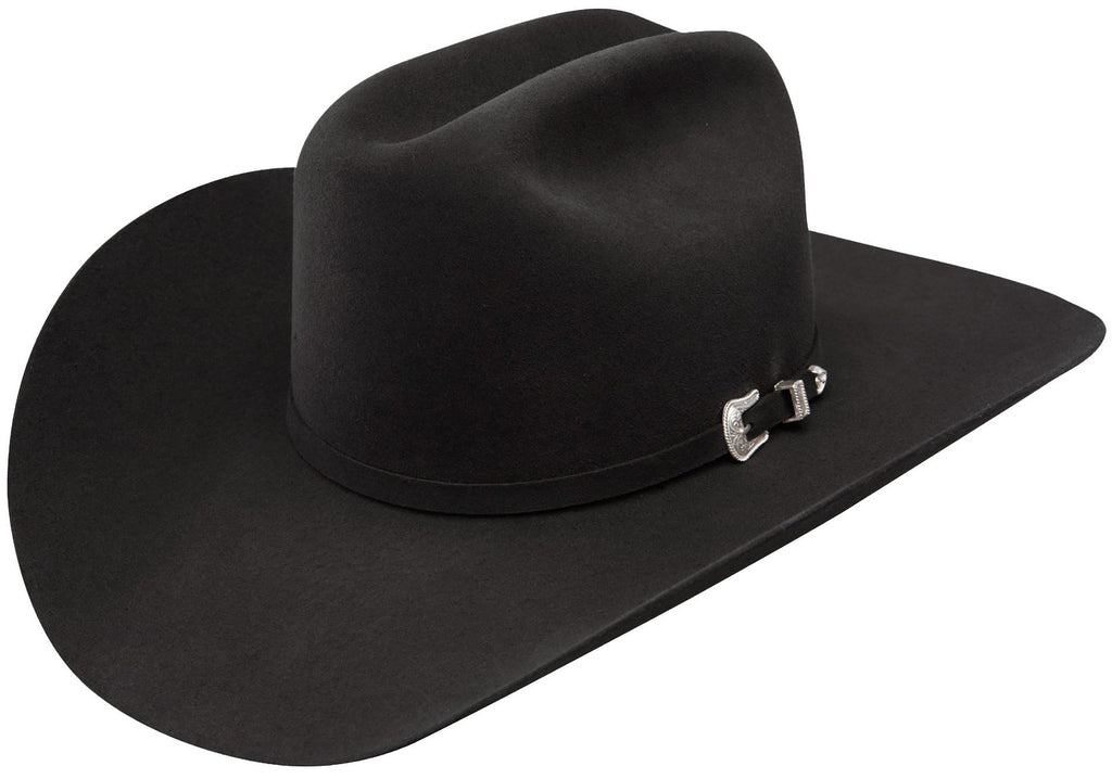 Black Wool Tucker Hat