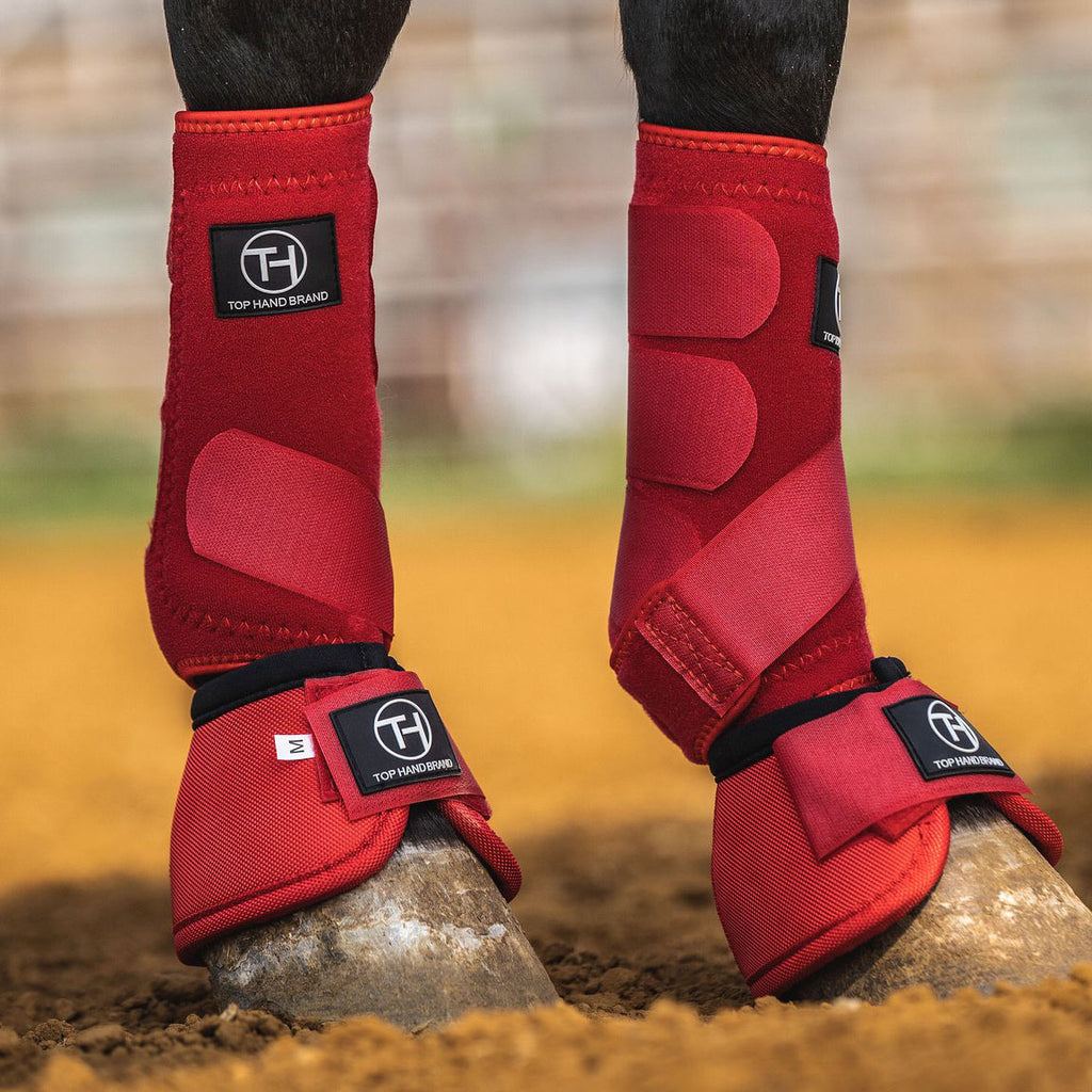 Top Hand Brand Front Red Sport Boot