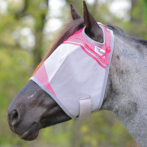 Cashel Pink Fly Mask
