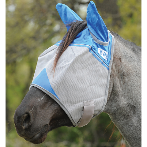 Cashel Blue- Full Ear Fly Mask- Supports the Wouned Warrior Project