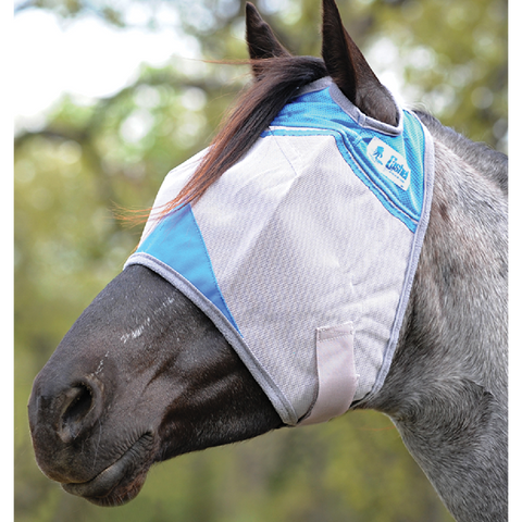 Cahel Blue Standard Fly Mask