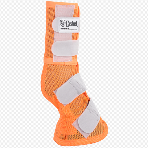 Cashel Orange Fly Boots- Set of Two