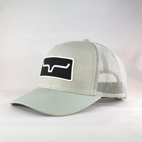Kimes Ranch Silver All Mesh Trucker Cap