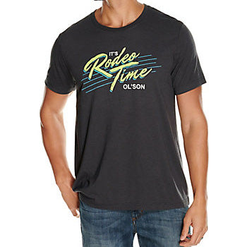 Dale Brisby Charcoal Saved by Rodeo Time Tee