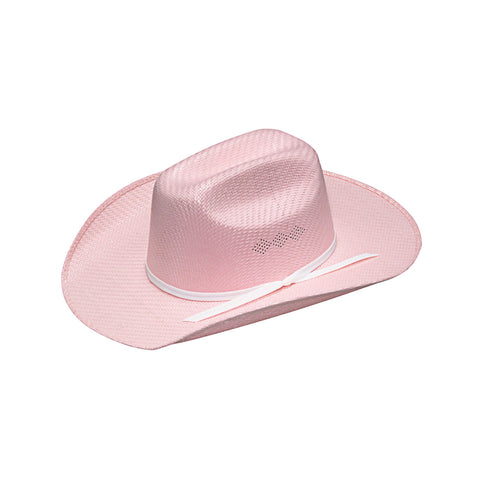 Twister Youth Pink Straw Hat