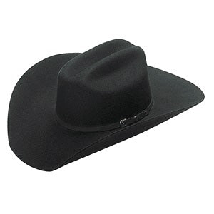 M&F Black 2X Santa Fe Felt Hat