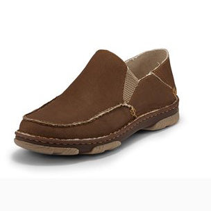Tony Lama Men's Khaki Gator Casual Slip On Shoe
