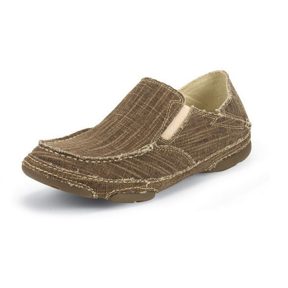 Tony Lama Men's Straw Canvas