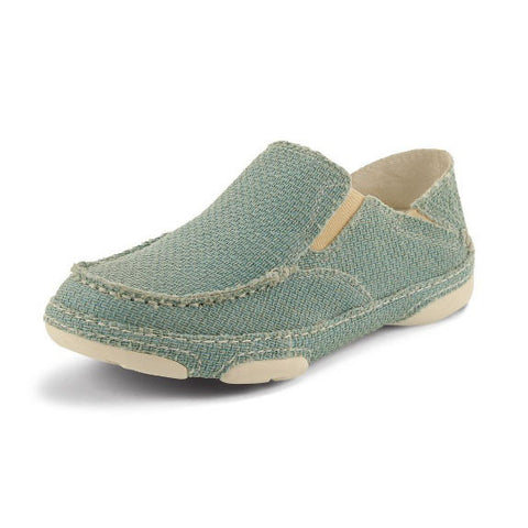 Tony Lama Women's Ocean Blue Canvas