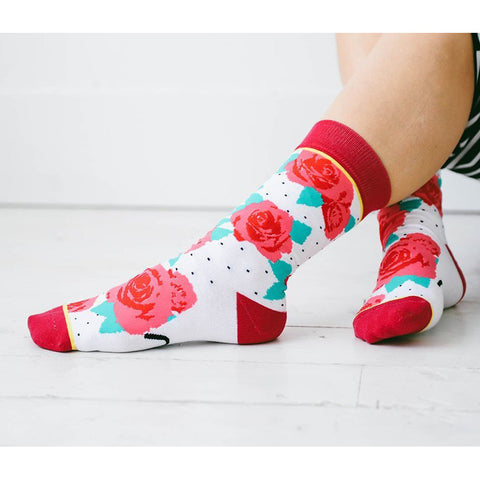 Women's True Love Rose Socks