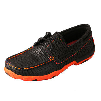Twisted X Black and Orange Moc