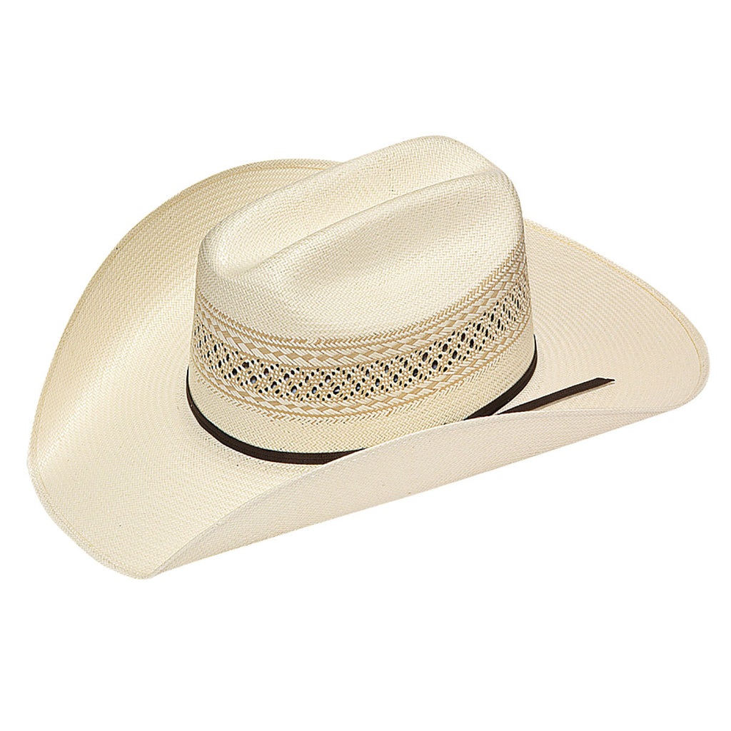 Twister Tan 10X Shantung Straw Hat