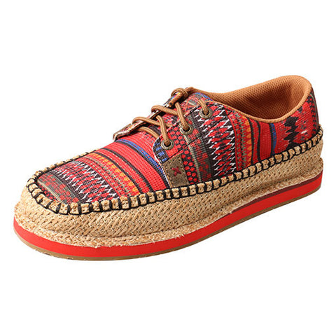 Twisted X Red Serape Casual Shoe