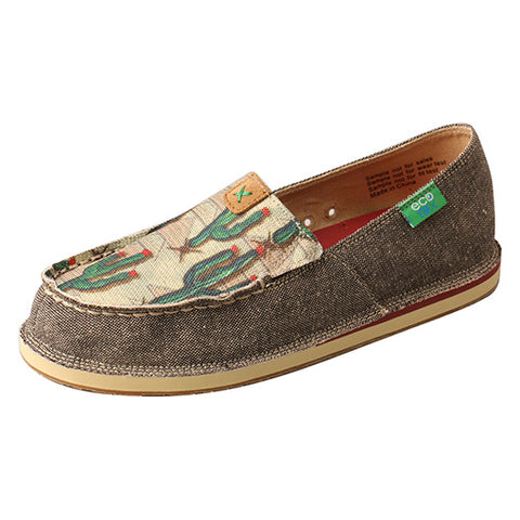 Twisted X Women's Cactus Slip On Eco Moc