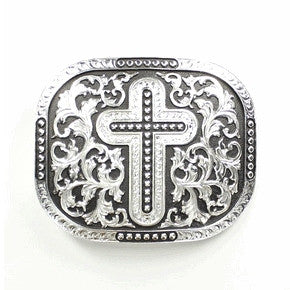Rectangle Cross Buckle