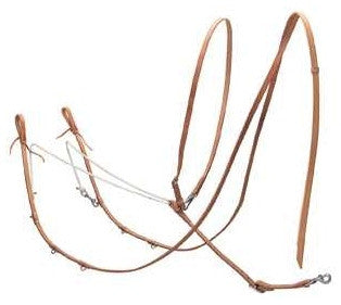 Harness Leather German Martingale