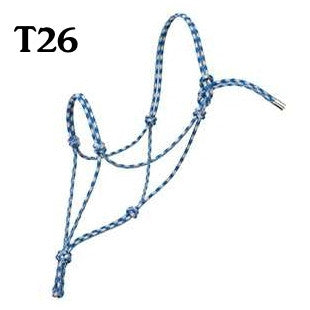 Two Tone Average Horse Silvertip No. 95 Rope Halter 35-9505-C11 - 04BOD15
