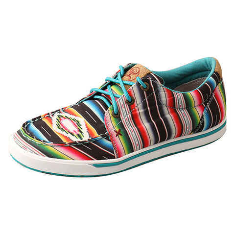 Twisted X Hooey Women's Aztec Loper Shoe