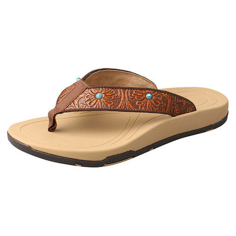 a24624107 Twisted X Women s Tan Tool Sandals