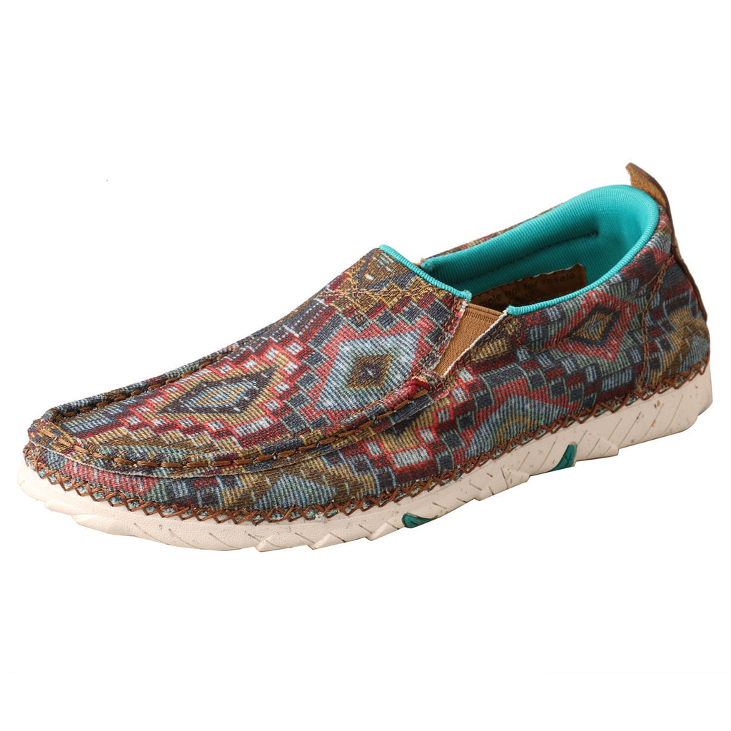 Women's Turquoise Aztec Slip-On Zero X Shoe