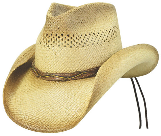 Panama Crushable Windy Trail Straw Hat