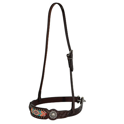 Beaded Inlay Noseband