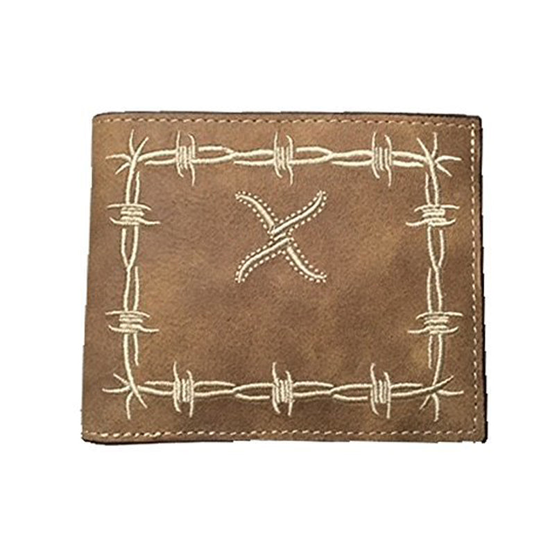 Twisted X Bifold Barbed Wire Wallet