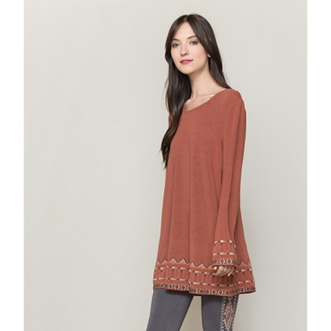 Southwest Rust Tunic