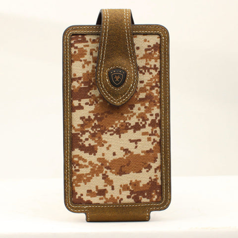 Brown Digital Camo Cell Phone Case
