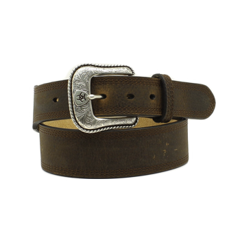 Arait Men's Dark Brown Belt