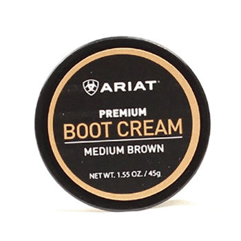 Ariat Medium Brown Boot Cream