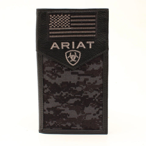Arait Black Digital Camo Wallet