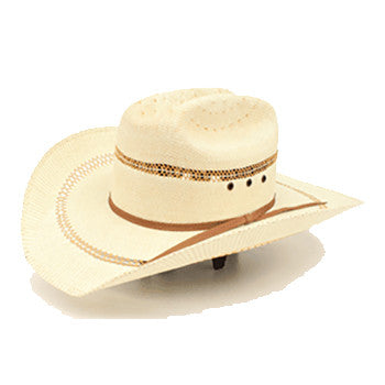 Kid's Golden Brown Straw Hat