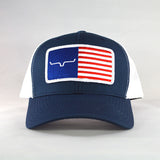 Kimes Ranch American Flag Cap