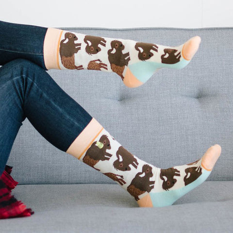 Women's Bison Dream Catcher Socks