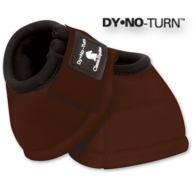 Brown Classic Equine Bell Boots