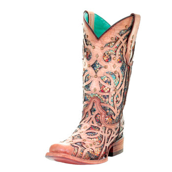 Corral Glitter Inlay Boots -