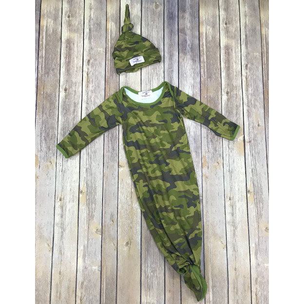 Infant Camoflauge Gown